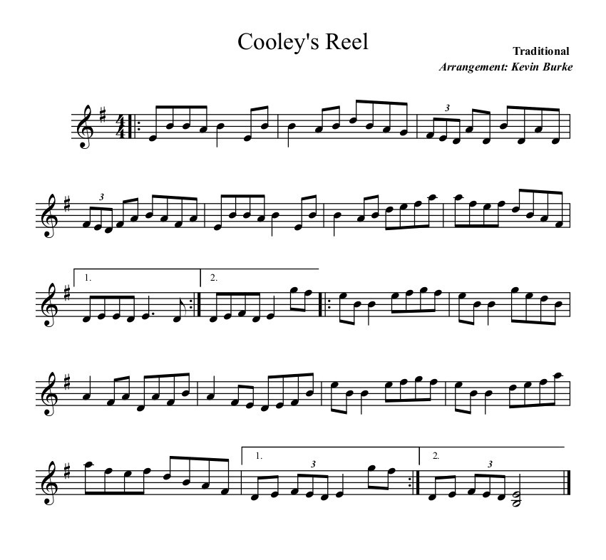 Cooleys Reel