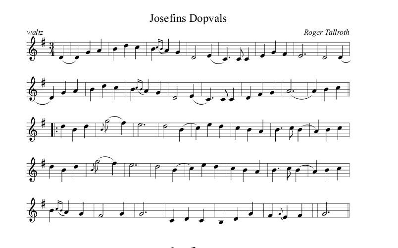 Josephins Dopvals