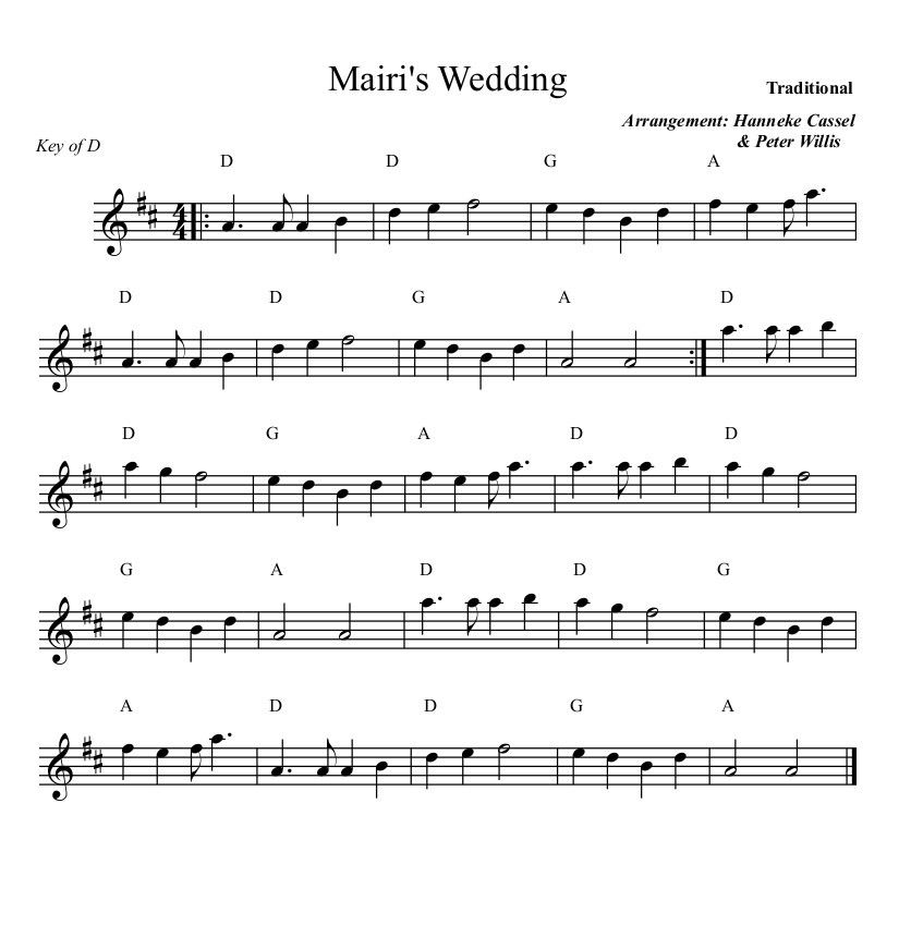 Mairis Wedding