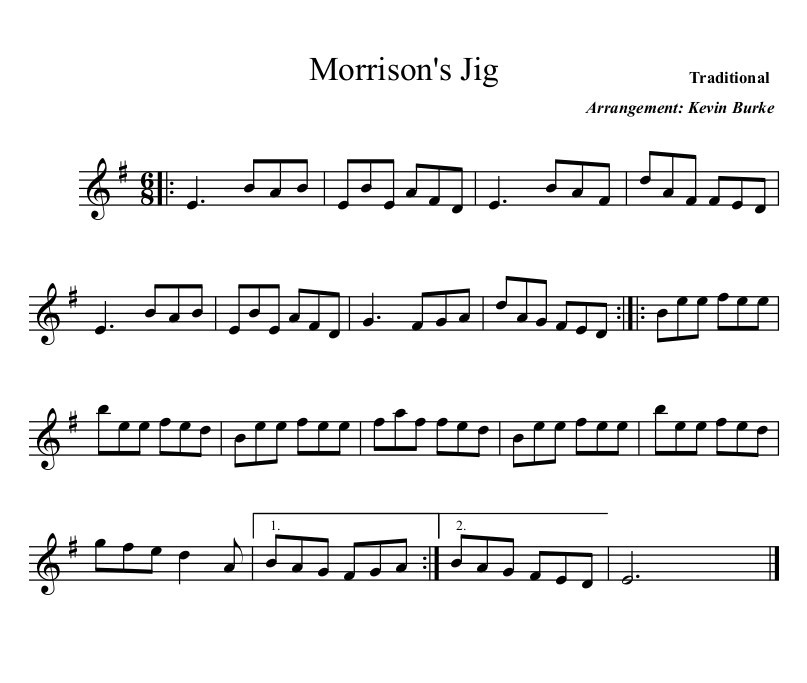 Morrisons Jig