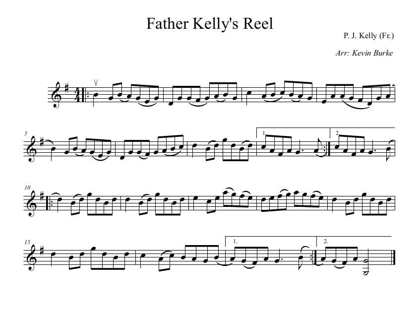 Father Kellys Reel