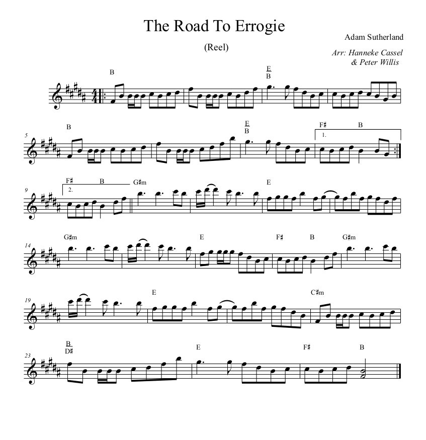 The Road to Errogie