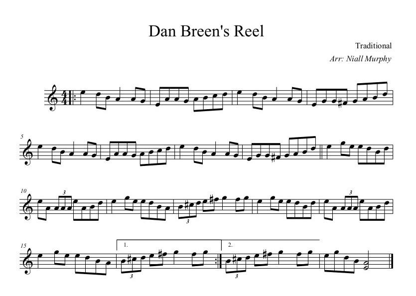 Dan Breens Reel