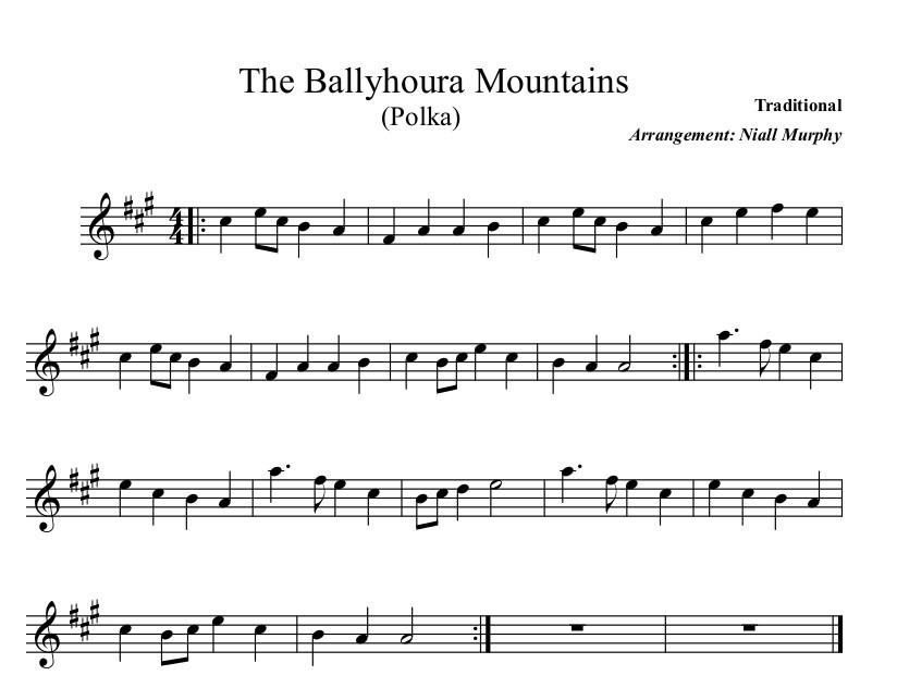 The Ballyhoura Mountains